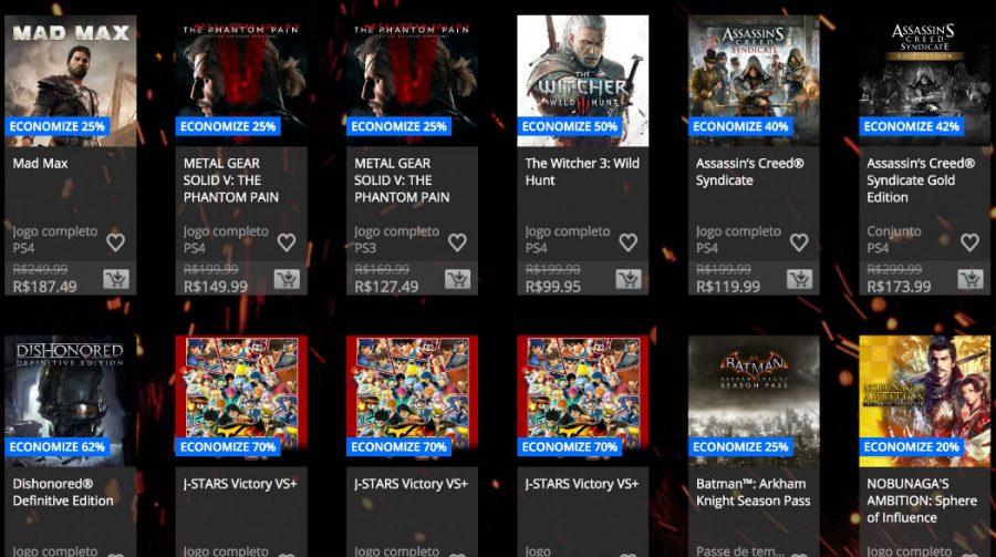 Começa Black Friday na PlayStation Network