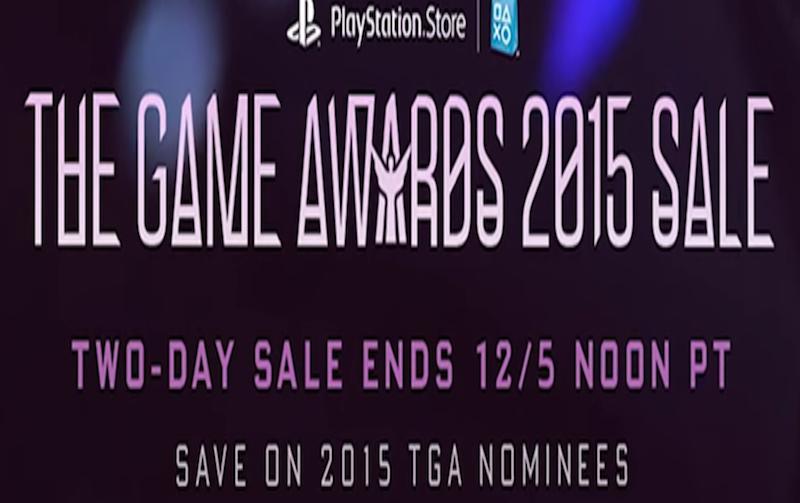 Indicados ao The Game Awards terão descontos na PS Store