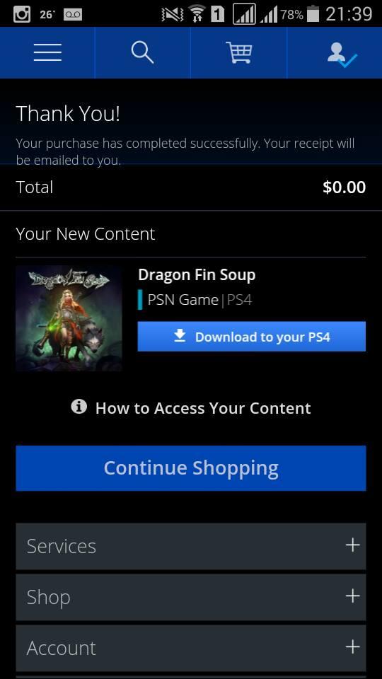 Compra e download