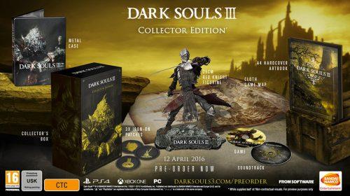 Dark Souls III: Novos detalhes das edições de colecionador