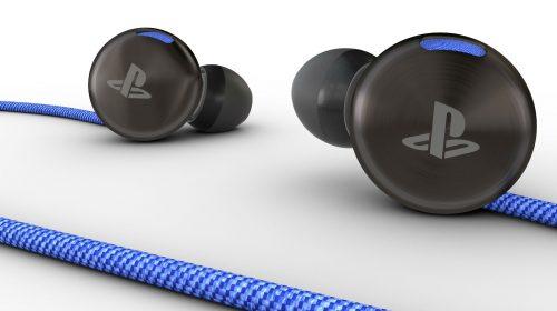 Sony anuncia In-ear Stereo Headset para PS4