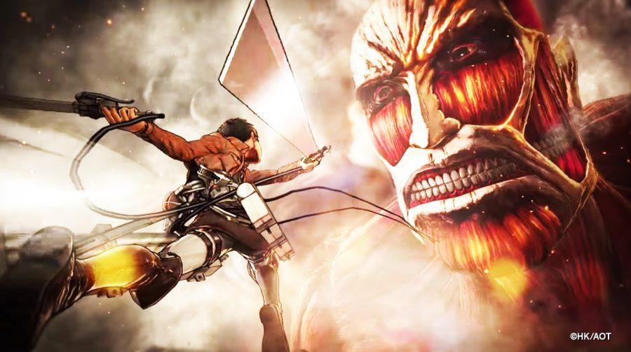 Attack on Tittan recebe novos gameplays espetaculares