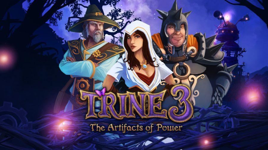 Trine 3: The Artifacts of Power anunciado para PS4