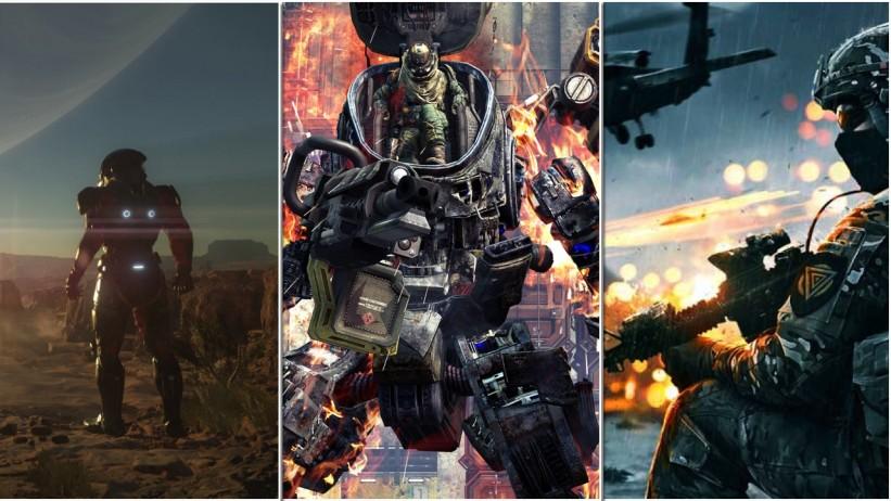 Titanfall, Battlefield e Mass Effect recebem projeções para lançamento