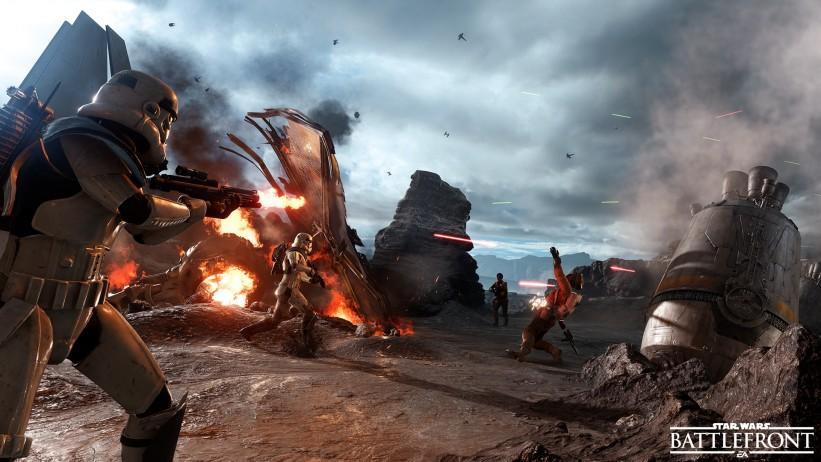 Novo DLC de Star Wars: Battlefront terá mapa de Tatooine