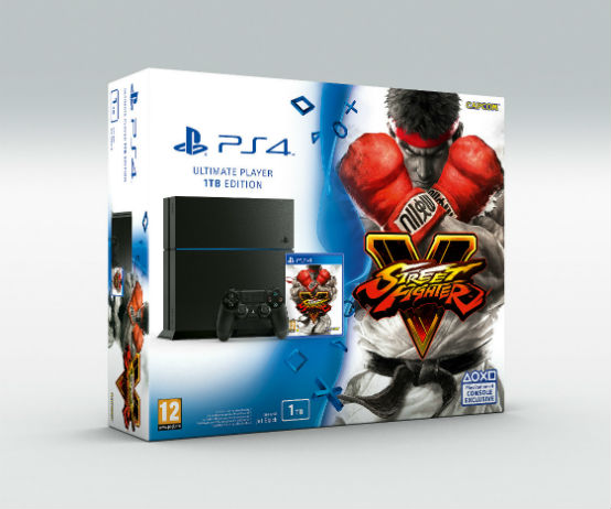 PlayStation 4 ganhará versão personalizada de Street Fighter V