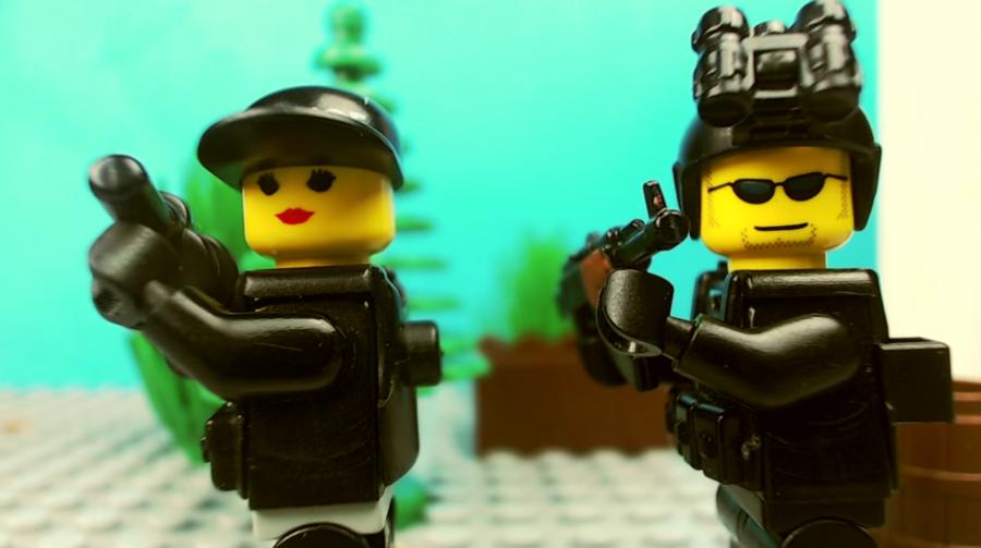 Vídeo - Rainbow Six Siege versão LEGO