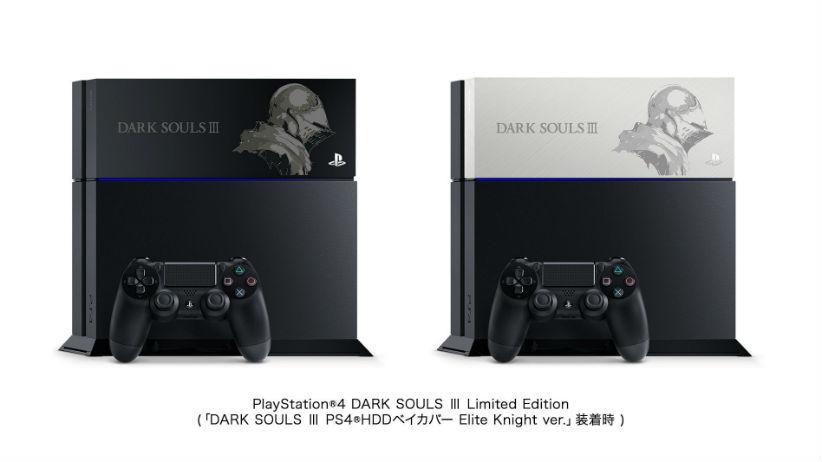 Sony lançará edição limitada do PS4 homenageando Dark Souls 3