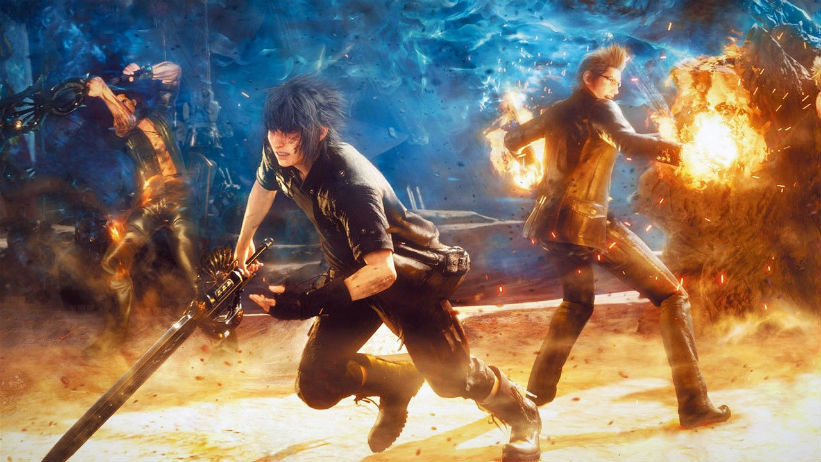 Final Fantasy XV ganha novo gameplay e terá Wait Mode