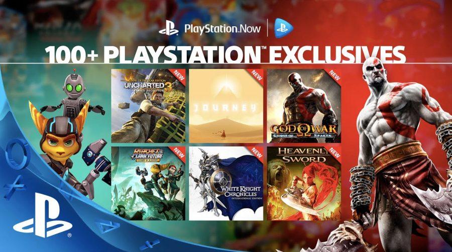 PlayStation Now recebe 40 novos jogos exclusivos