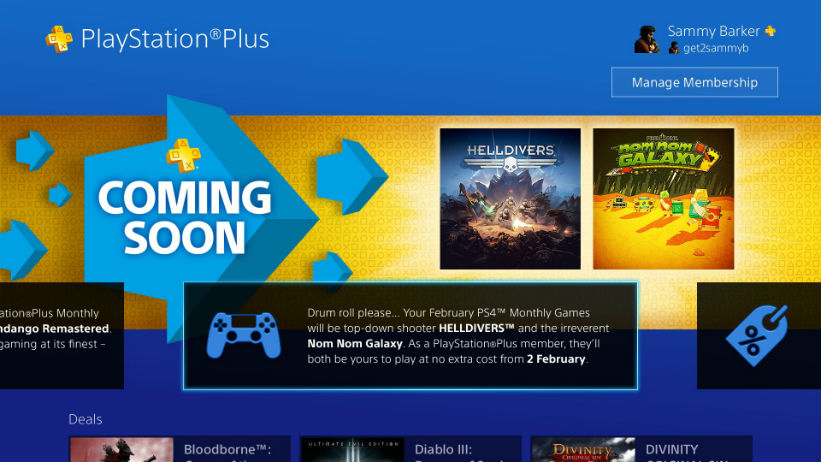 [Rumor]PlayStation Plus de Fevereiro de 2016 vaza na PSN