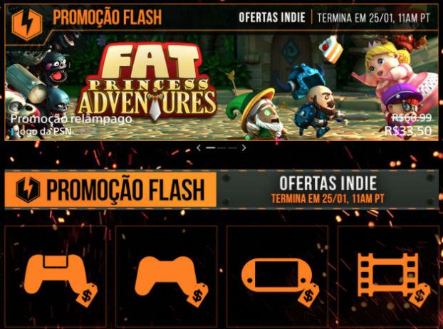 Sony anuncia nova Promoção Flash com foco em jogos Indies