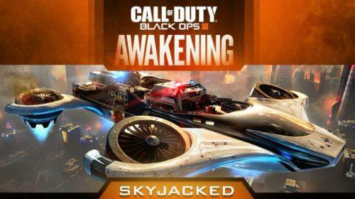 Black Ops III: Prévia do mapa Skyjacked é revelada
