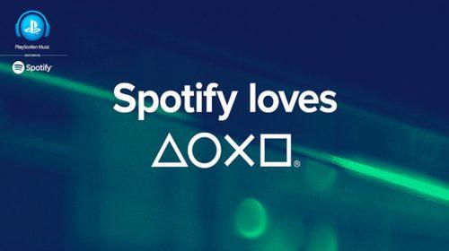 Spotify é um sucesso no PlayStation 4 segundo Sony