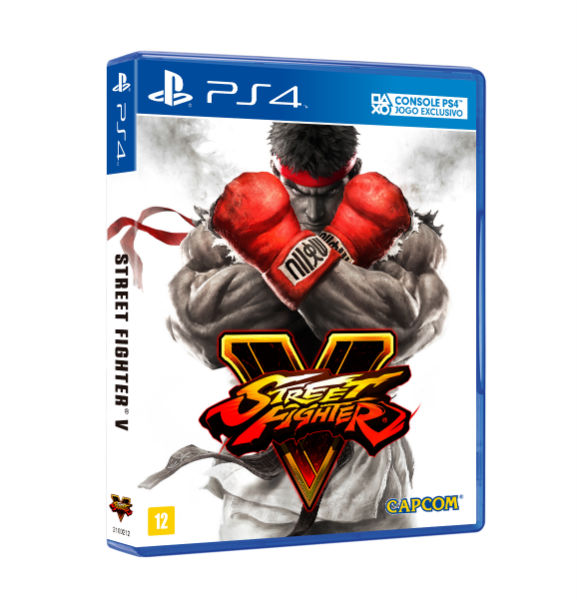 Capa Street Fighter V