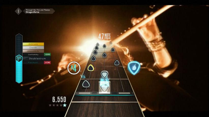 Guitar Hero Live recebe músicas mais difíceis da série