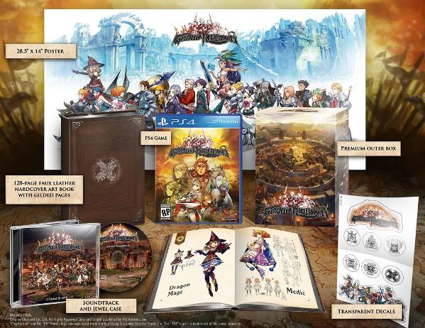 Grand Kingdom ganha data de lançamento e edição limitada