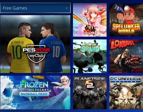 21 jogos gratuitos disponíveis no PlayStation 4