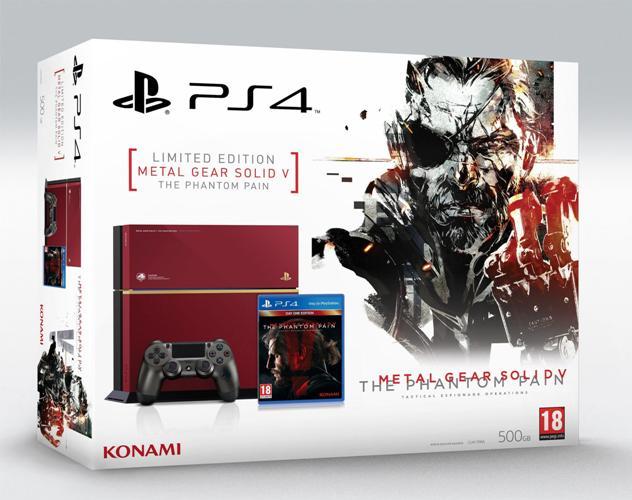 modelo PS4 edição MGS TPP