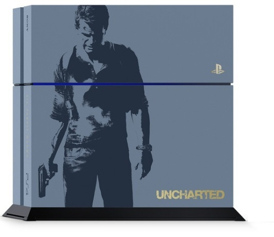 PlayStation 4 terá belíssima edição personalizada de Uncharted 4
