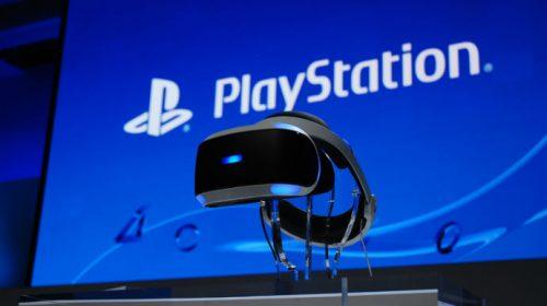 Sony fará evento do PlayStation VR em 15 de março
