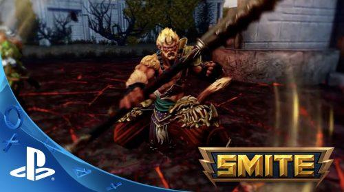Sony anuncia a chegada de Smite ao PlayStation 4