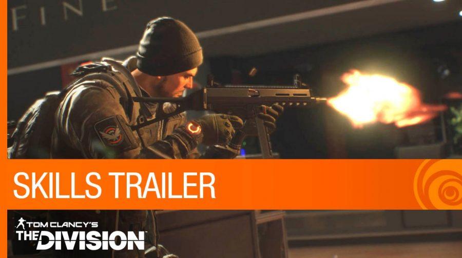 The Division ganha novo trailer detalhando sistema de skills