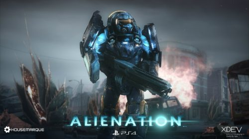 Alienation para PlayStation 4 será lançado em Abril