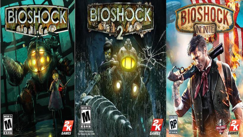 Capa de Bioshock: The Collection revelada em loja virtual