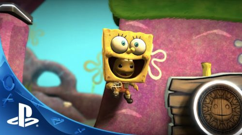 Bob Esponja chega no LittleBigPlanet 3