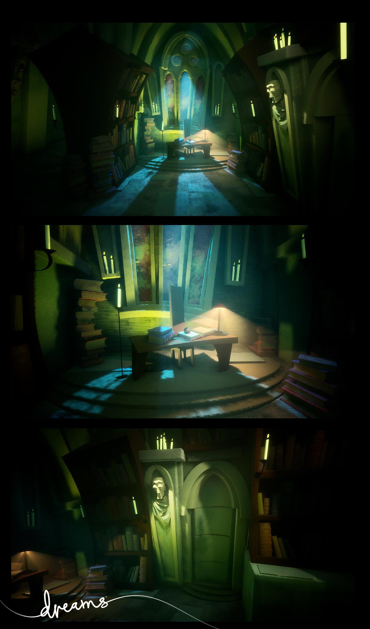 Novas imagens de dreams exclusivo de playstation 4 for Dreamhome com