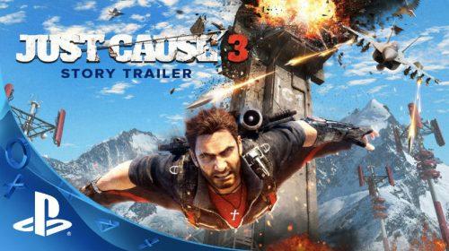 Just Cause 3 aparece na PlayStation Plus de Agosto no Brasil
