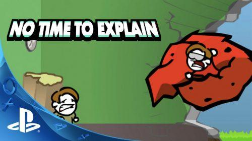 No Time to Explain chegará ao PS4 em março