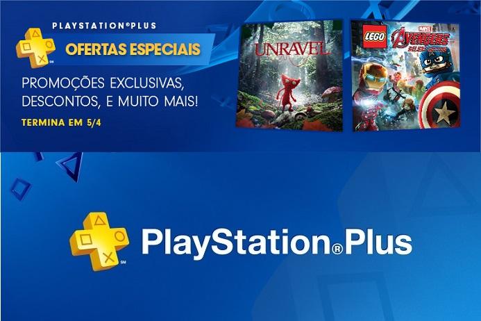 PlayStation Plus ofertas especiais: descontos para assinantes