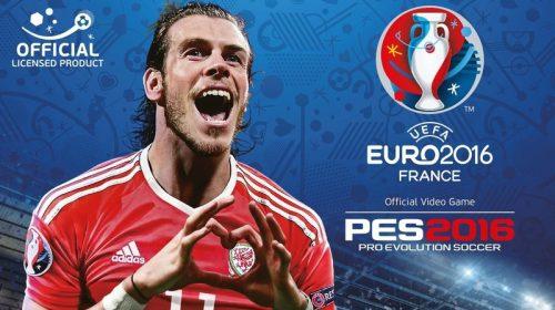 Gareth Bale é a estrela da capa de PES UEFA Euro 2016