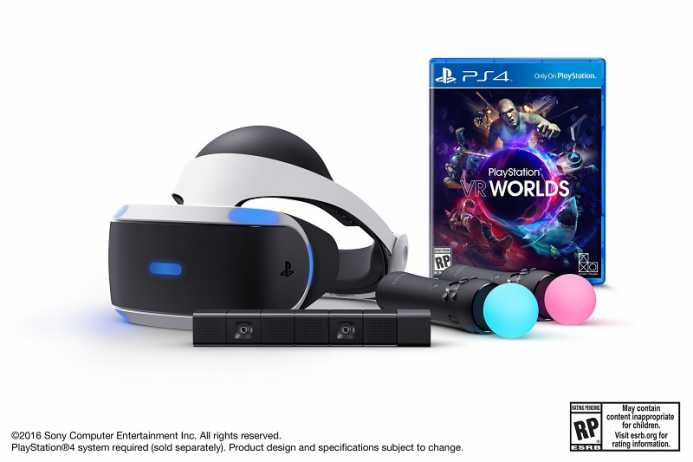 bundle do PlayStation VR