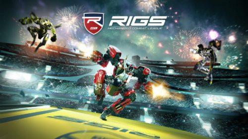 Exclusivo do VR, RIGS mostra classes em ação em gameplays