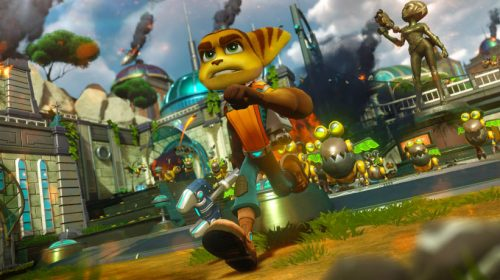 Insomniac Games divulga novas gameplays de Ratchet & Clank