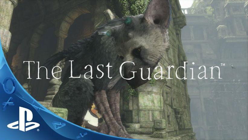 The Last Guardian recebe 1.03; Livro anunciado
