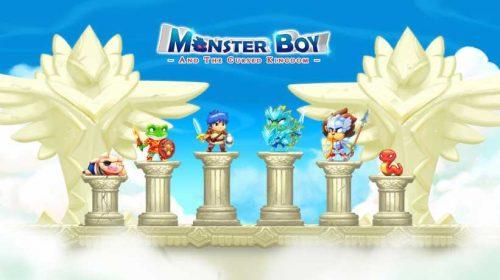 Vem aí Monster Boy, o sucessor espiritual do Wonder Boy