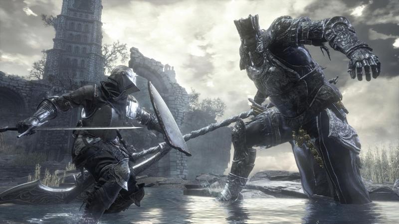 Dark Souls 3 batalha