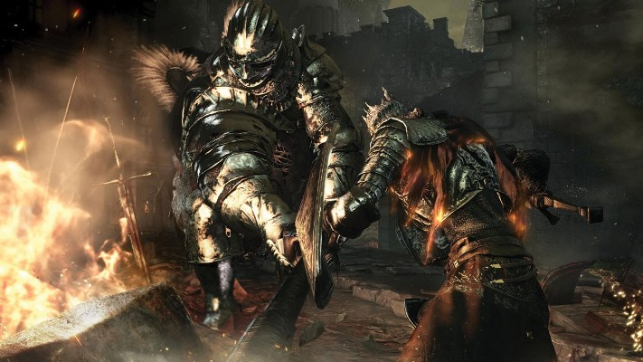 Dark Souls 3 boss