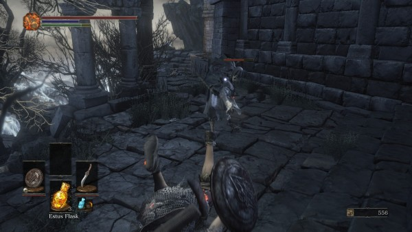 Dark Souls 3 rolagem