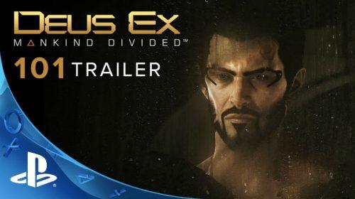 Deus Ex: Mankind Divided recebe no trailer de jogabilidade