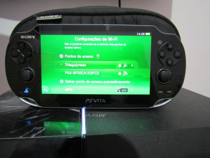 PS Vita rede wifi ps4
