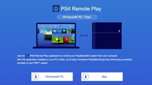 Sony lança vídeo explicando o Remote Play do PS4
