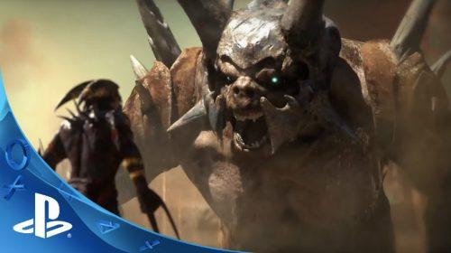 Mecânicas de Shadow of the Beast mostram brutalidade do game