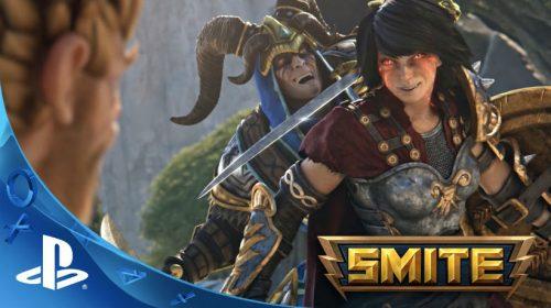 Smite chega amanhã ao PS4