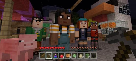 Nova Atualiza 231 227 O Lan 231 Ada Para Minecraft No Playstation 4