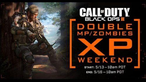 Double XP de Black Ops 3 acontece neste final de semana
